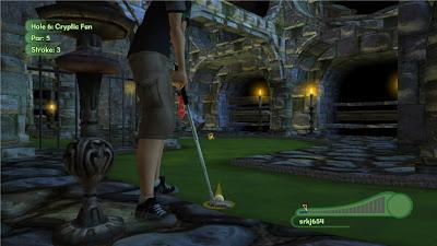 3D Ultra Minigolf Adventures 2, game, xbox, game, screen