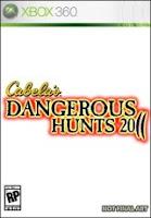 Cabela's Dangerous Hunts, game, xbox, box, art, image