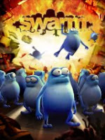 Swarm, sony, ps3, game, box, art