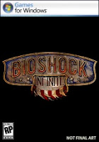 BioShock, Infinite, pc, game, box, art