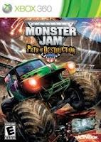 Monster Jam 3, Path of Destruction, game, box, art, xbox