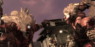 Asura's Wrath, game, sony, ps3, screen