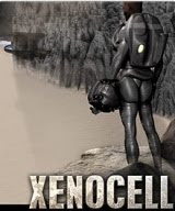 Xenocell, game, PC, box, art, Mac