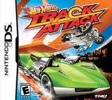 Hot Wheels: Track Attack, ds, game, box, art