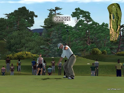 My Golf Game featuring Ernie Els,pc, game, screen