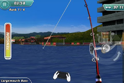Rapala Pro Bass Fishing Hunting, game, apple, iphone
