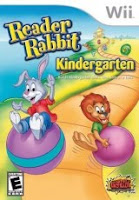 Reader Rabbit Kindergarten, game, wii, nintendo