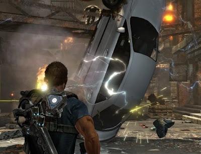 Inversion, Xbox, game, screen