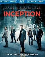 Inception, blu-ray, movie, box, art