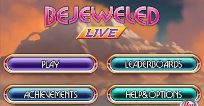 Bejeweled Live, game, screen, phone