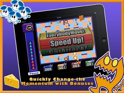 Chu Chu Rocket HD, ipad, apple, game, screen