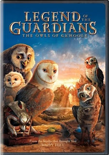 Legend of the Guardians, DVD, Blu-ray, box, art