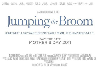 Jumping the Broom, movie, poster
