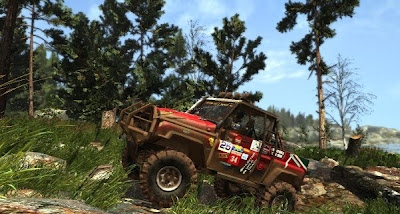Off-Road Drive, game, xbox, screen