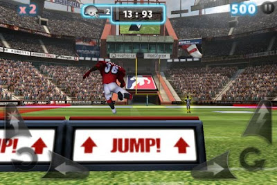 Backbreaker 2: Vengeance, game,screen, iphone, apple