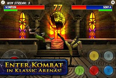 Ultimate Mortal Kombat 3, game, screen, apple, iphone