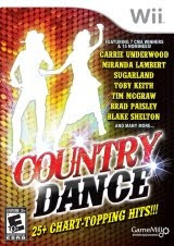 Country Dance, wii, game, screen, box, art