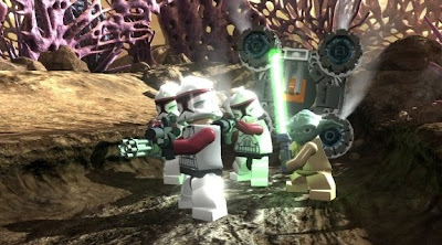 LEGO Star Wars 3, The Clone Wars, game, screen, nintendo, wii