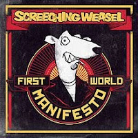 Screeching Weasel, First World Manifesto, cd, new, album, audio, cover