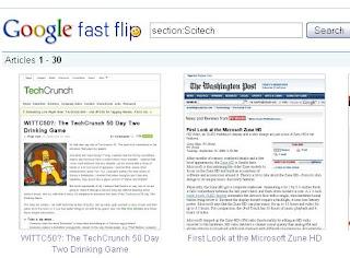fastflip o novo serviço do google