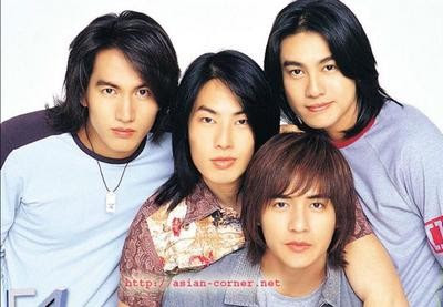 F4 Meteor Garden 2014 Asian Artis: The group...
