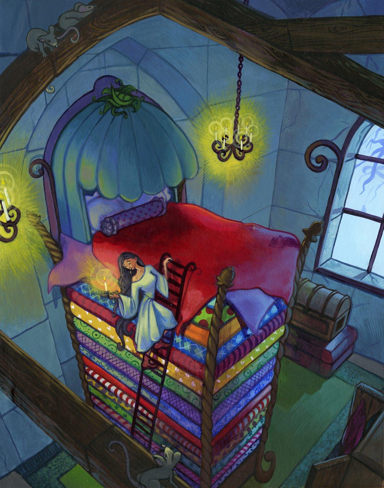 the princess and the pea story pdf