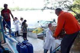 DEFESA CIVIL - apoio na enchente