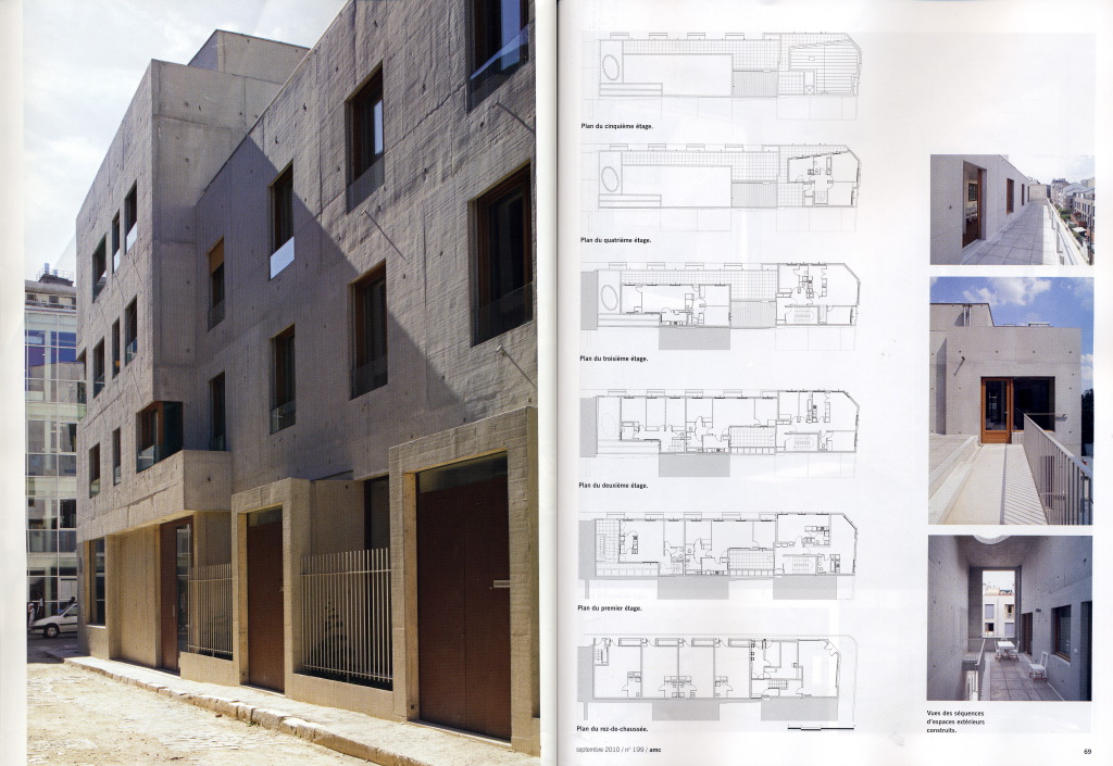 publication amc le moniteur photographe d 39 architecture paris. Black Bedroom Furniture Sets. Home Design Ideas