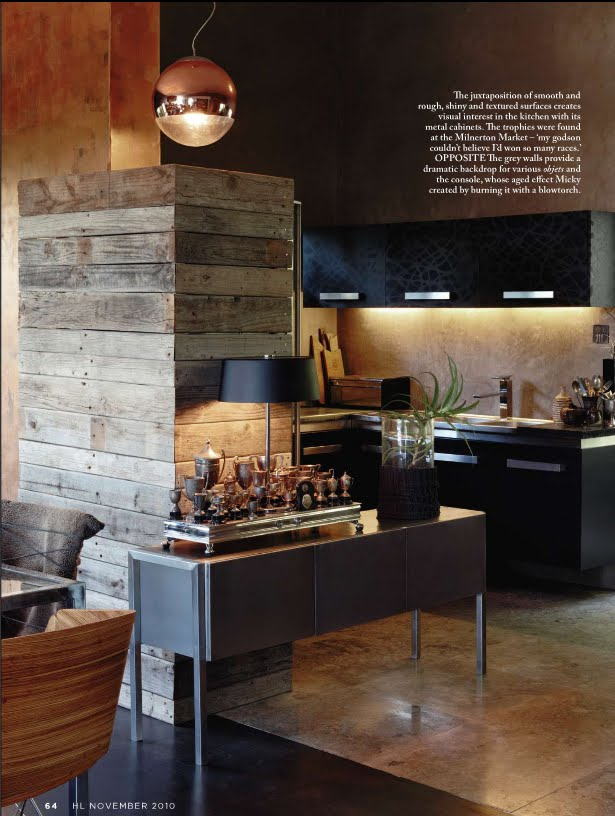 delight by design: kitchen inspiration {industrial chic
