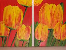 serie tulipanes