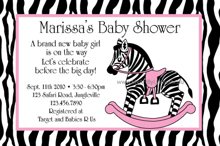 Cute Baby Picture Ideas on New Zebra Baby Shower Invitation That Everyone Will Love  This Little
