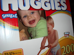 Huggies box train