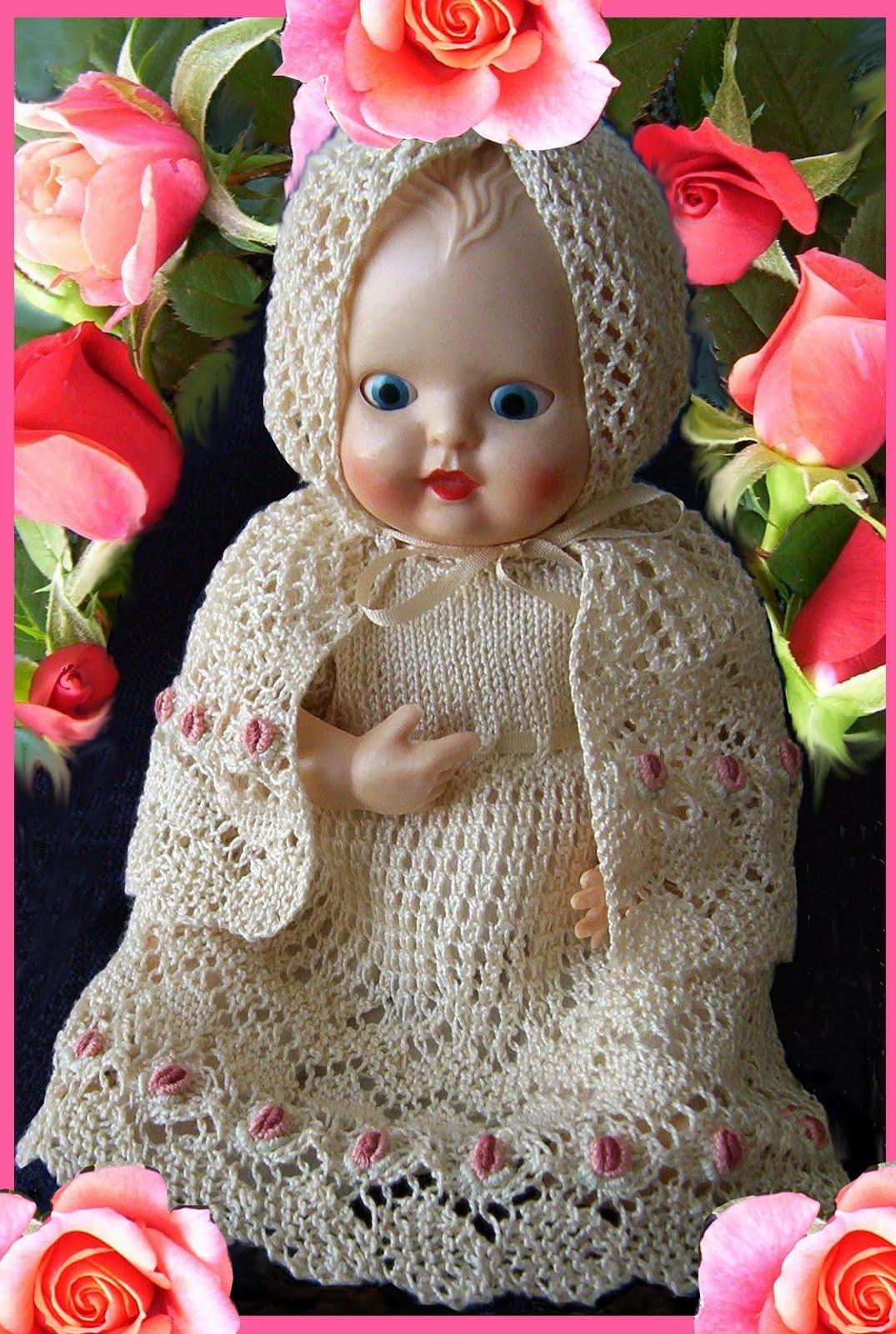 Knitting Patterns For Rosebud Dolls : ROSEBUD* baby doll 6