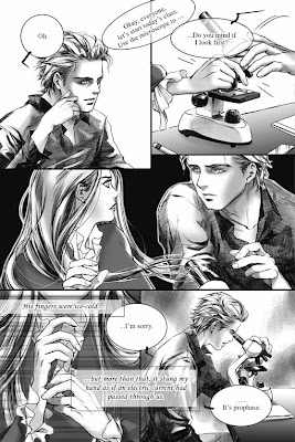 Twilight graphic novel panel