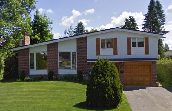 Mid century modern and 1970s era ottawa suburban modern for Tract home builders