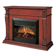Pet News And Reviews Style Selections 33 Cherry Mantel For Gas Or Electric Fireplace