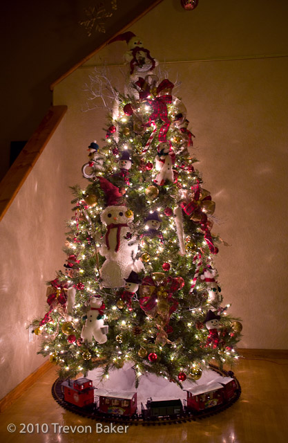 Christmas Tree Decorated Professionally : Christmas tree raffle trevon s area