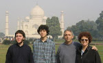 With Family at the Taj