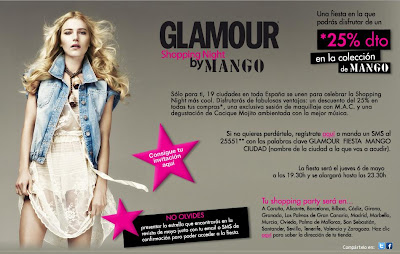 Glamour Shopping Night by Mango