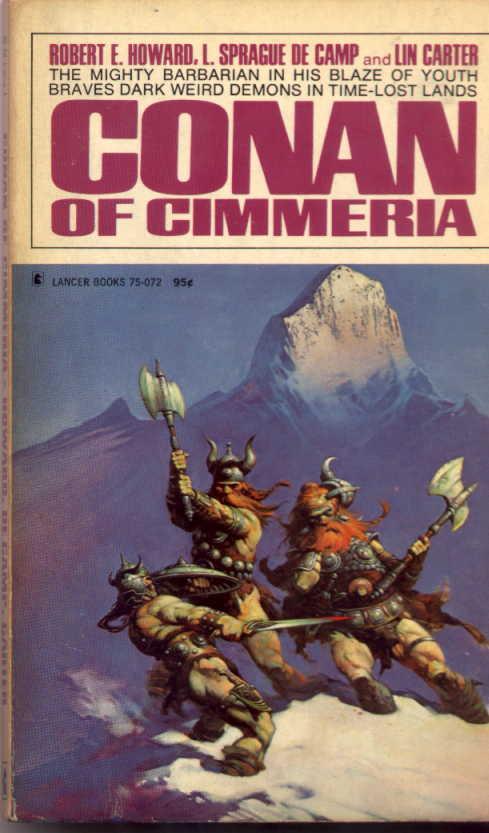 Livros do Conan, vários escritores. Lancer+Conan+Of+Cimmeria