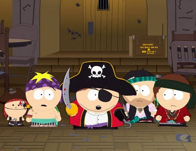south park pirates