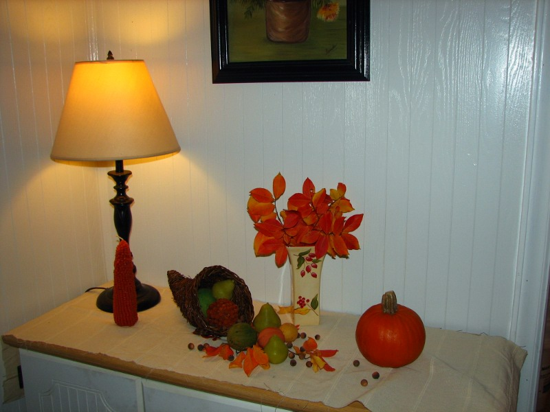 Mary ann 39 s house happy thanksgiving Happy thanksgiving decorations