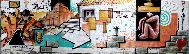 Reflexiones graffiti en mutxamel - El tiempo en muchamiel ...
