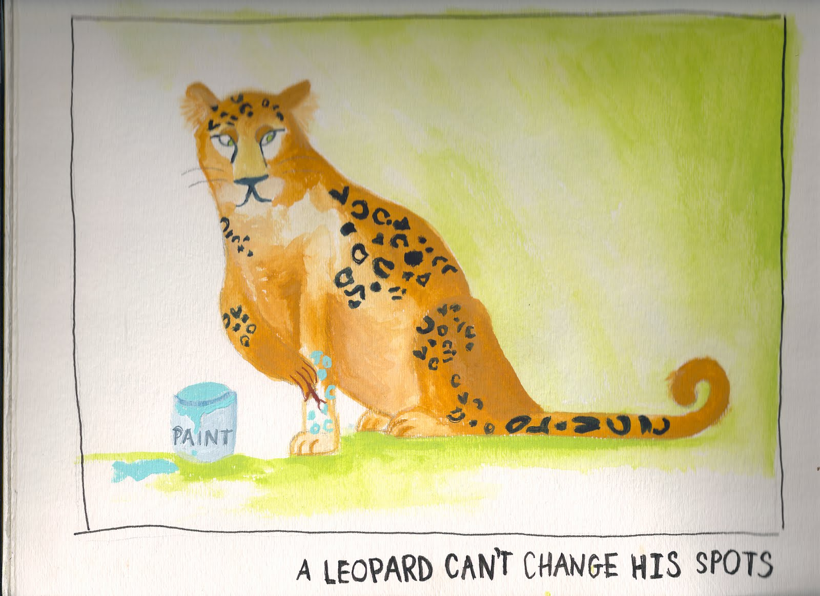 a leopard cannot change his spots