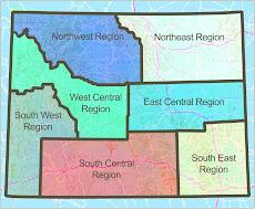 WBC Regions