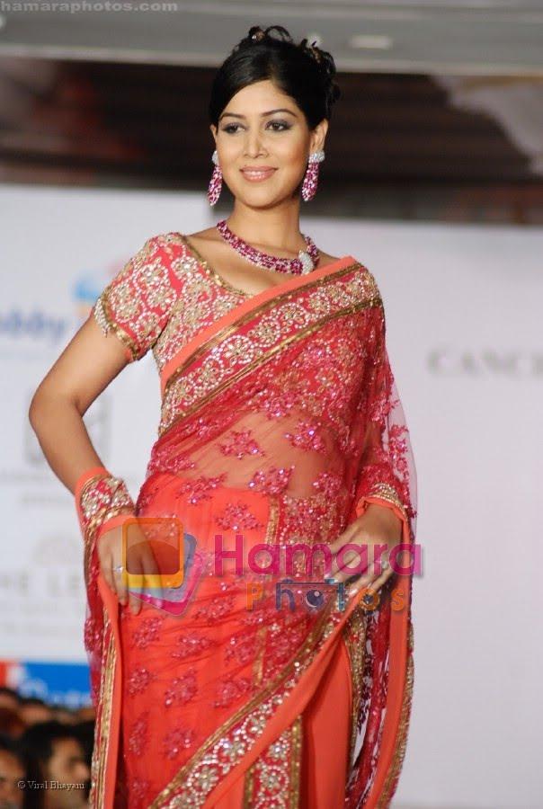 Tollywood Actress Anjali in Blue Saree - Vantage Point