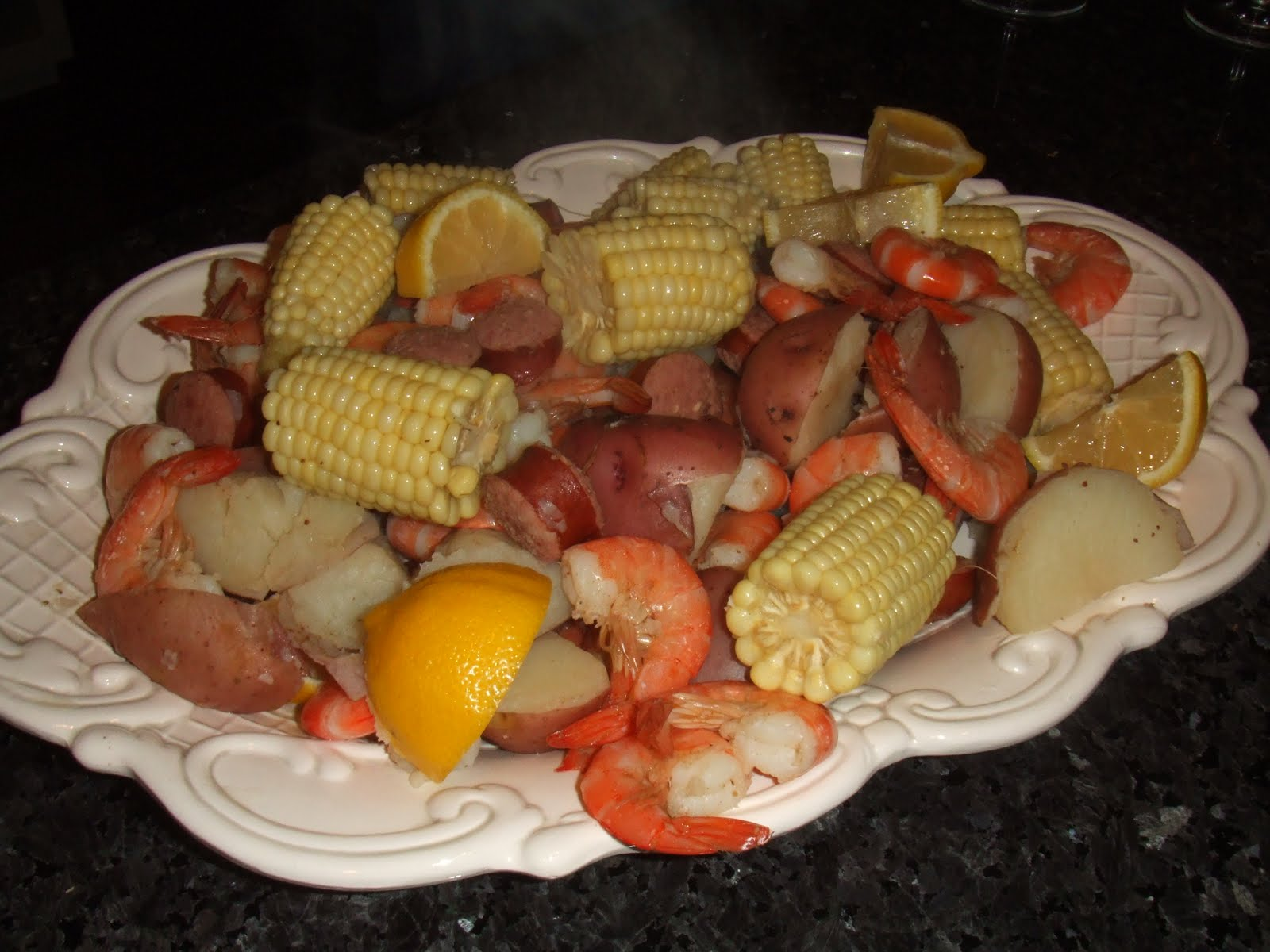... Spice: A Lowcountry Feast – Frogmore Stew, and Blue Cheese Coleslaw