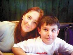 Adam Jones and his mom Rebecca