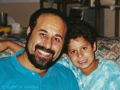 Adam (age 8) and his Dad