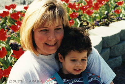 Adam (age 2) and Me